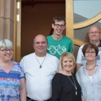 Facilitators (Hope UK) and hosts (Riverside Church and Buckie Baptist) for the Drug Awareness course.