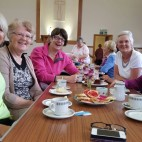 Coffee morning for Macmillan Cancer Support.